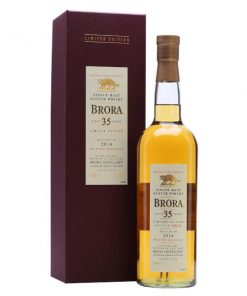 Brora 35 YO 1978 13th Release Bottled 2014