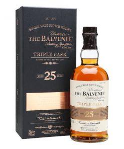 Balvenie 25 YO Triple Cask