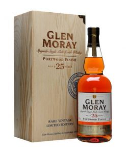 Glen Moray 25 YO Port Wood Finish