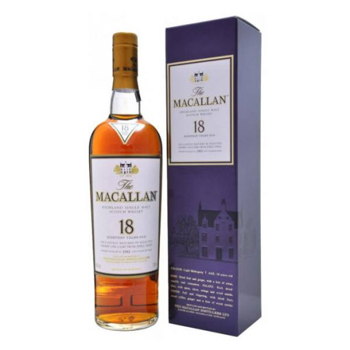 Macallan 18 YO Sherry Oak