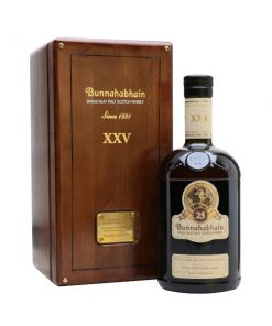 Bunnahabhain 25 YO in wooden box