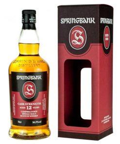 Springbank 12 YO Cask Strength