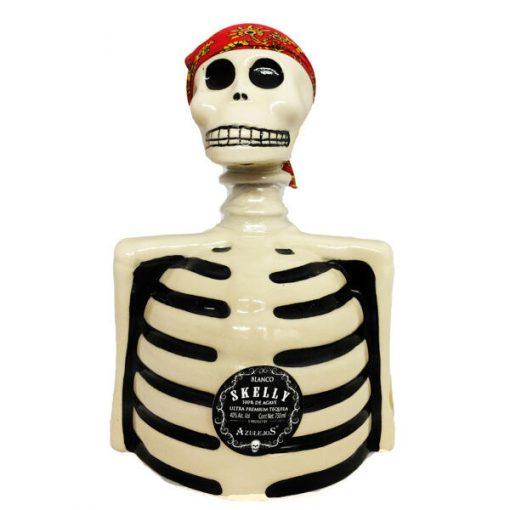 Los Azulejos Skeleton Blanco