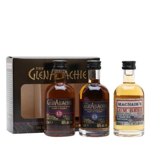 GlenAllachie Miniature Gift Set 3x50ml