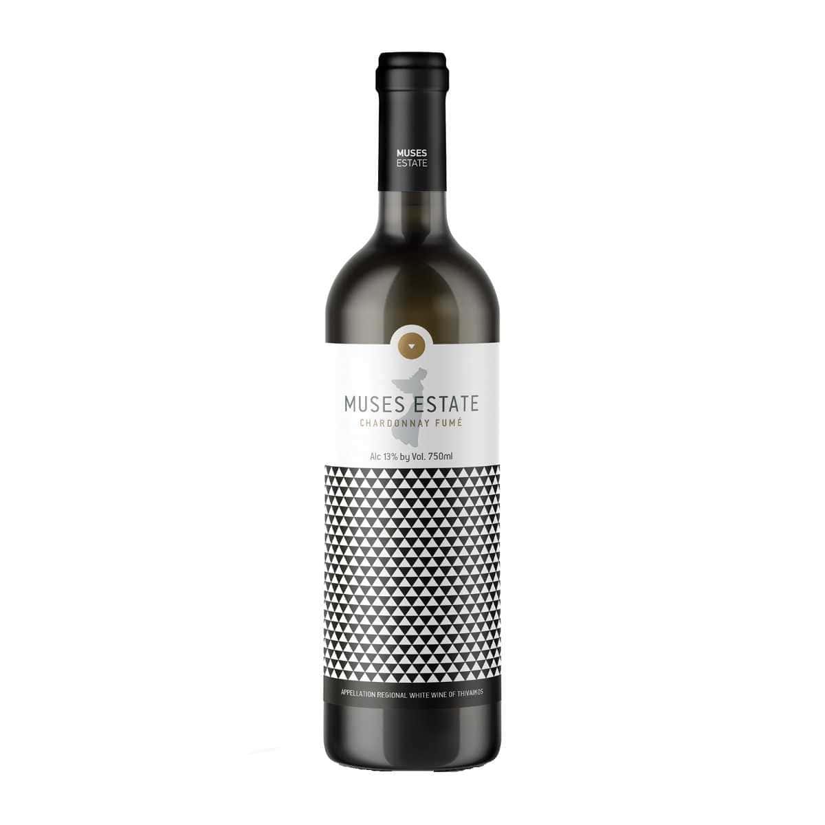 Κτήμα Μουσών Chardonnay